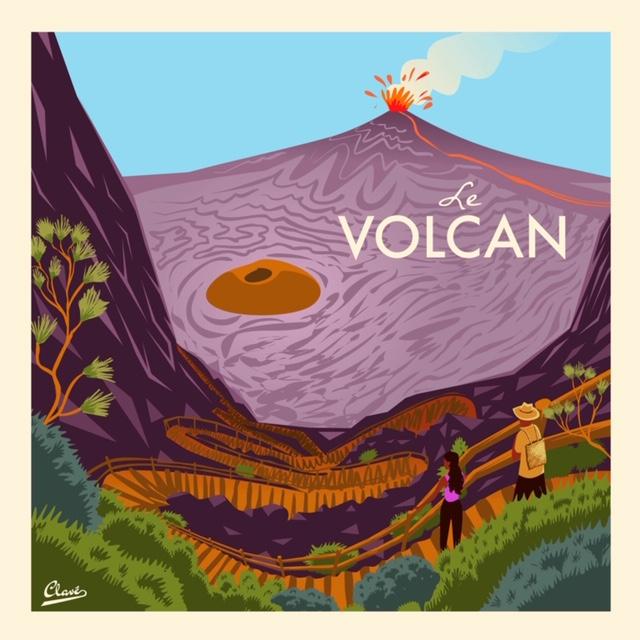 Clavé Le volcan